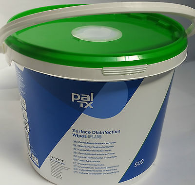 Pal W64230 Disinfectant Wet Wipes For Kitchens & All Food Areas - 500 per Tub