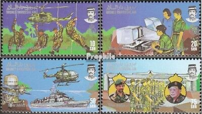 Brunei 339-342 mint never hinged mnh 1986 Royal Forces