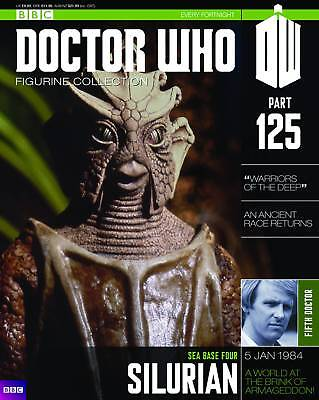 "Doctor Who Figurine Collection #125 ""silurian"" (Eaglemoss)"