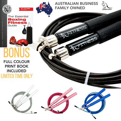 Jump Skipping SPEED ROPE 360° Ergo System with BONUS Boxing Fitness Book