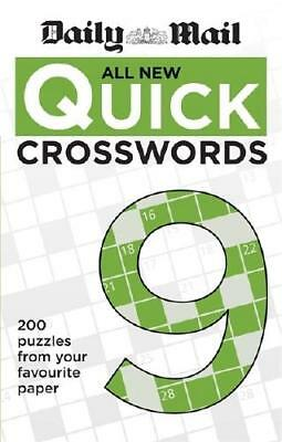 Daily Mail All New Quick Crosswords 9 by Daily Mail (author)