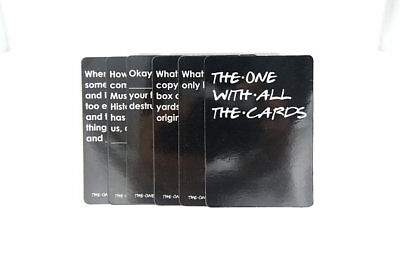 The One With All The Cards - Friends Cards Against Humanity