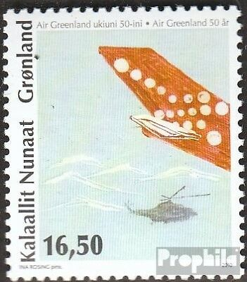 Denmark-Greenland 559 fine used / cancelled 2010 Airline Air Greenland