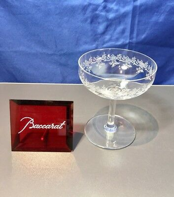 Baccarat Crystal Sevigne Coupe a Champagne - Coppa champagne NEW IN BOX