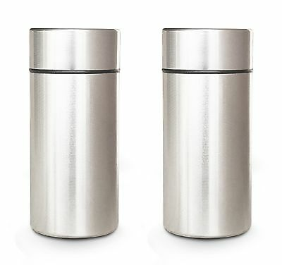 4x-Airtight-Smell-Proof-Container-Aluminum-Herb-Stash-Jar ,NEW