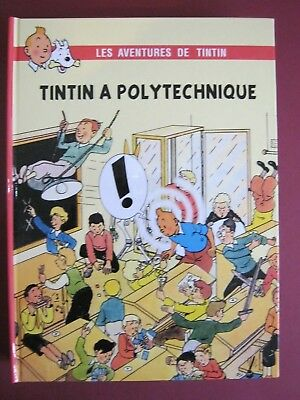 Hommage Herge  Tintin  A Polytechnique