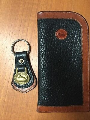 Dooney and Bourke Keychain and Eyeglass Case