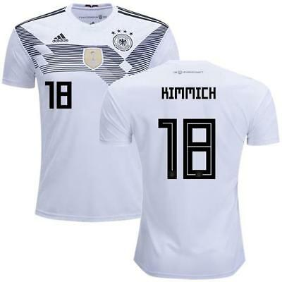 adidas 2018 World Cup Germany Men s Home Jersey BR7843 w  Kimmich 18 1805 dc3418f78