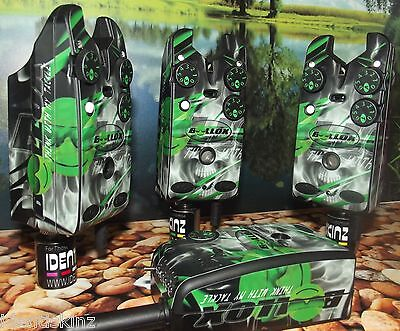 IDENTISKINZ CUSTOM Skin decals wrap stickers DELKIM TXI + EV STD ALARMS