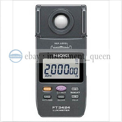 Hioki FT3424 Light meter with broad coverage from low to high illuminance NEW