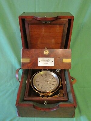 19th century walnut cased marine chronometer by FRODSHAM & KEEN