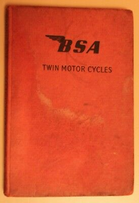 Bsa Twin Motor Cycles - D.w.munro  1960