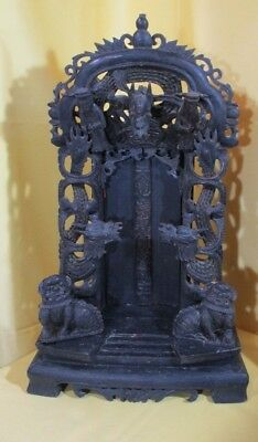 19th Century finely carved Chinese Shrine