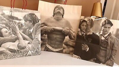 ABERCROMBIE & FITCH Vintage Shopping Bags - Lot of 3