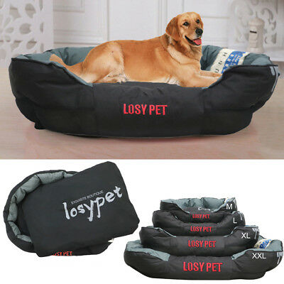 Waterproof Pet Bed Washable Heavy Duty Dog Bed Pillow Fr Large
