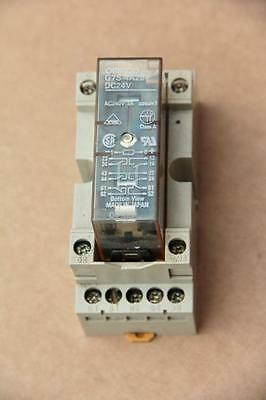 Omron P75-14F Mount & G7S-4A2B Safety Relay  #s792