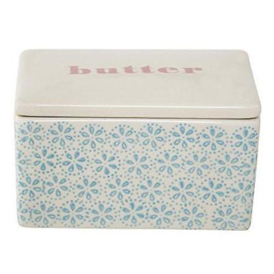 Bloomingville Tableware Patrizia Butter Box, Blue