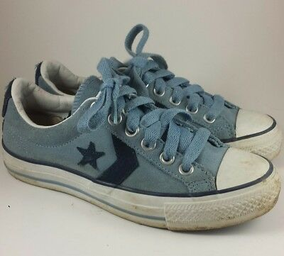 Converse One Star Blue Suede Mens 3.5 Womens Size 5.5