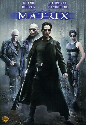 The Matrix (DVD, 2007) Keanu Reeves Laurence Fishburne New Sealed Free Shipping