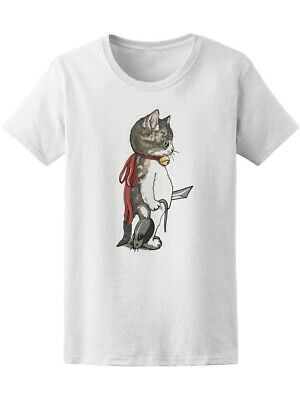 Kitty Warrior Catches Cat Women's Tee -Image by Shutterstock