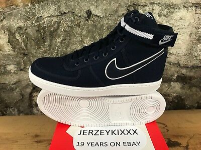 best authentic 54cf9 89b35 Nike Vandal High Supreme obsidian white lifestyle sneakers NEW 318330-402  2018
