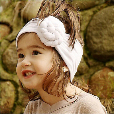 Kids Baby Girl Toddler Solid Headband Hair Band Accessories Headwear For Infant