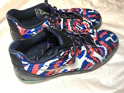 separation shoes 610a0 92750 Nike Kobe 9 Independence Day 4th Of July USA Basketball Shoes Size 7Y