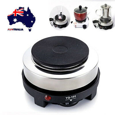 AU 500W Mini Electric Stove Cooking Hot Plate Coffee Water Milk Heater Warmer