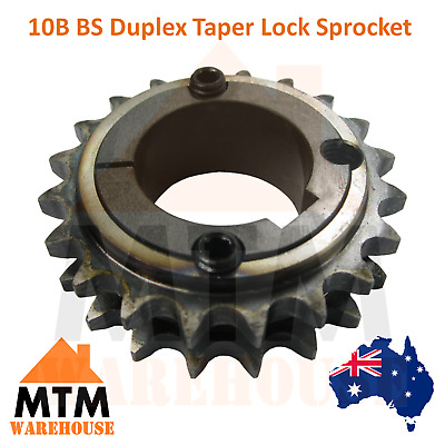 10B BS Duplex Taper Lock Sprocket 38 Tooth, 57 Tooth & 76 Tooth