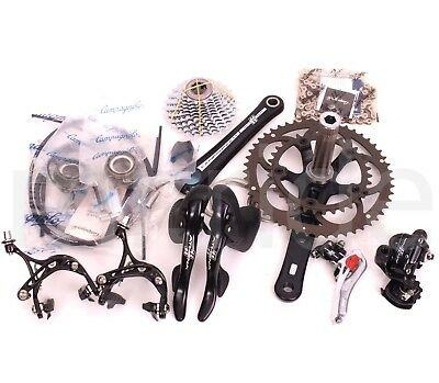Campagnolo Athena Bike Bicycle Groupset 2x11S,50/34t,175,BB386,12-29t,Braze-on
