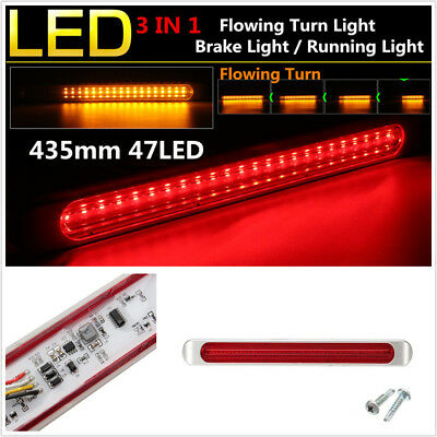 12-24V Truck Trailer Light Bar Tow Boad 48LED Brake Light Bar Tail Stopping Lamp