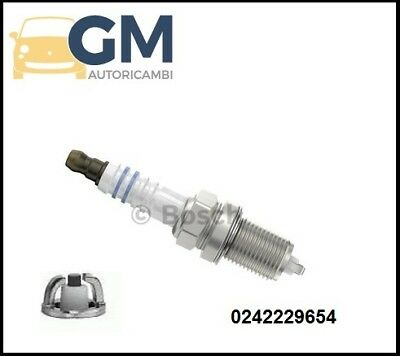 BOSCH 4 CANDELE D/'ACCENSIONE OPEL ASTRA 1.8i 16V 85KW 0242235666