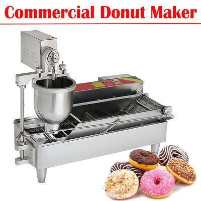 Commercial Electric Automatic Doughnut Donut Machine Donut Maker 3*Mold CE FDA