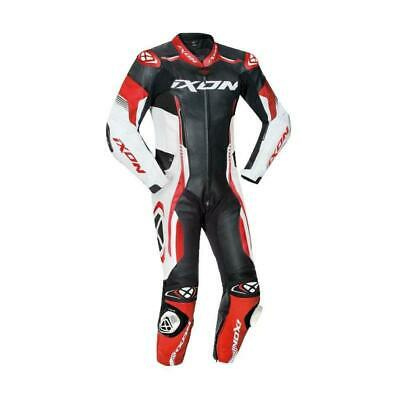 Ixon Vortex 2 II Full Race Spec One Piece Motorcycle Leathers Red Airbag Ready