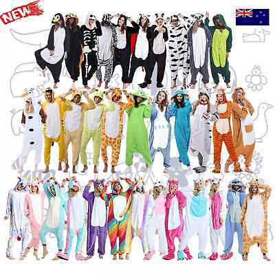 Adult Fleece Unisex Kigurumi Animal Onsie Pajamas Cosplay Costume Sleepwear-*