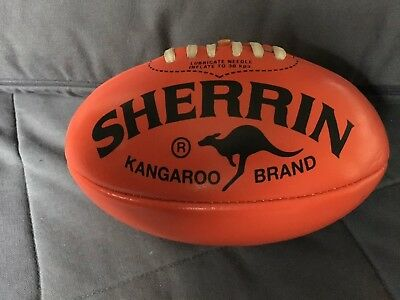 AFL Football Mini Football. Australian Rules Sherrin Approx 20cm. NEW