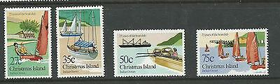 1983 Boat Club 25th Anniversary  SG 171 -174  Complete  MUH/MNH as Purchased
