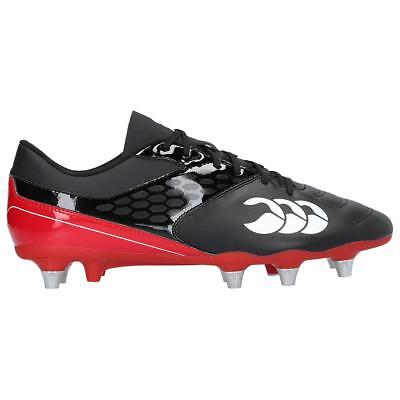 Mens Black Canterbury Raze Rugby Boots in UK sizes 7,9,10,11,12 & 13 RRP £55.00