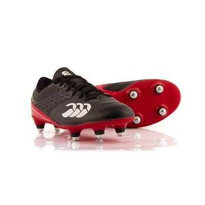 JUNIOR Black Canterbury Raze Rugby Boots in UK sizes 13,1,2,3,4,5,5.5 RRP £37.00