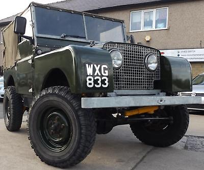 "Land Rover Series 1 80"" 1952 Model in Good Condition with extras"