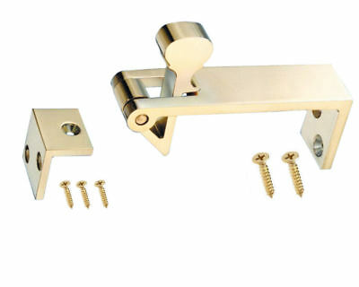 Counter Flap Bar Catch Solid Polished Brass Pub Shop Counterflap + Screws J95000