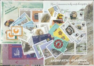 kazakhstan 1997 mint never hinged mnh Complete Volume in clean Conservation