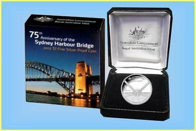 2007 $1 Fine Silver Proof Coin 75th Anniversary of the Sydney Harbour Bridge…