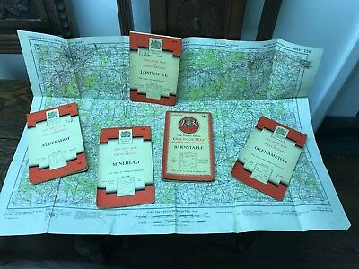Collection Of Old Maps.