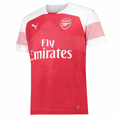 Arsenal Football Home Jersey Shirt Tee Top 2018 19 Outsize Mens PUMA