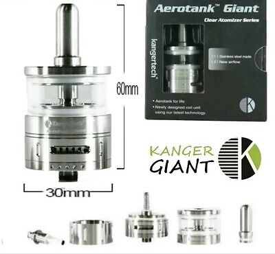 Kanger Kangertech Aerotank Giant 4,5ml Clearomiseur Atomiseur 100% Authentique