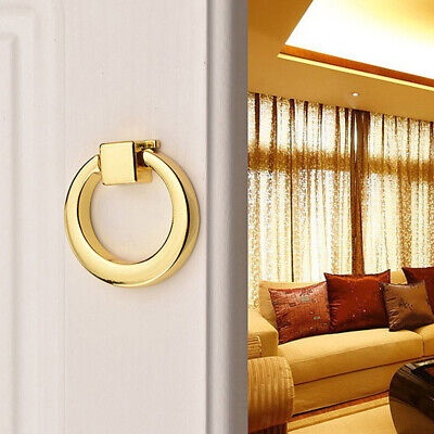 Zinc Alloy Cabinet Pull Knobs Ring Handle for Closet Cupboard Wardrobe Draw