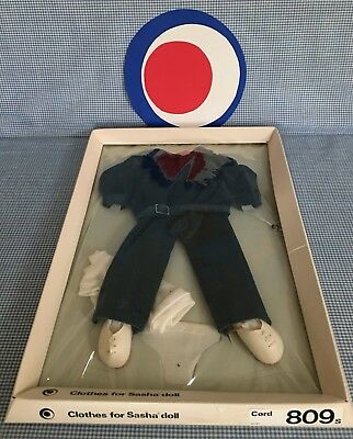 9 Pieces * Clothes for SASHA DOLL: TEAL BLUE CORDS  *Made in England* TRENDON
