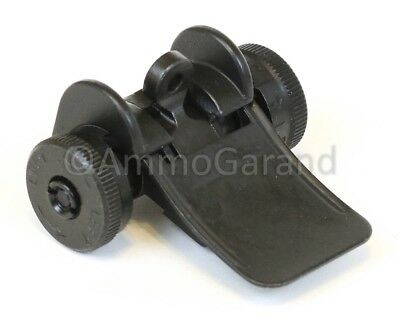 Rear Sight Assembly for M1 Garand T105 Style Complete New Dark