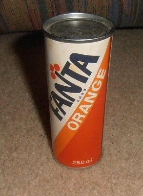 Vintage & Rare Fanta Orange Coca-Cola Asian Foreign Very Old Small Can